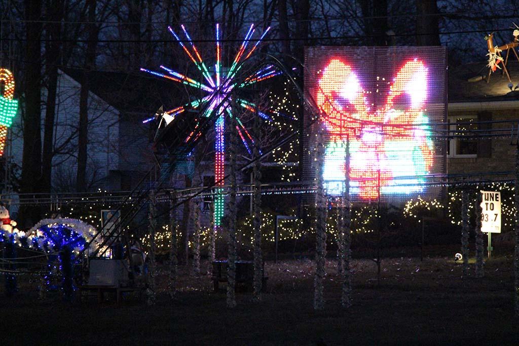 Christmas Lights Photo Page
